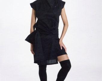 Black Summer Dress - Summer Dress - Black Dress - Black Summer