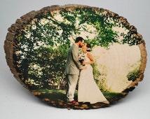 Picture on Wood, Custom Photo on Wood, Rustic Portraits, Distressed Portraits, Reclaimed Wood Photo Transfer, Wood Photo Blocks