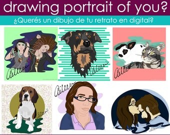 Do you want a Digital Portrait?