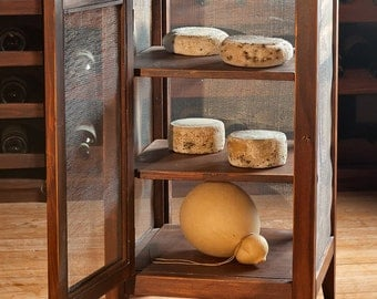 Cheese drying wood