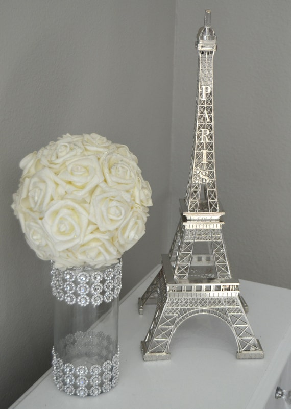 Eiffel Tower Centerpiece Parisians Theme Decor Paris Wedding