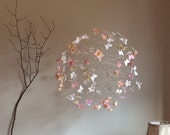 Mobile for Baby, Pink Nursery Mobiles, Baby Crib Mobiles, Baby Girl Nursery, Custom Nursery Designs