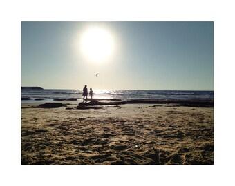 Sunset, Beach Photography, Coastal Art, Beach Theme Decor, Sea Art, Beach Scenes, Fine Art Photography