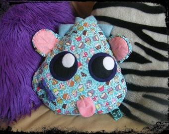 SALE - Cupcake Monster Pillow