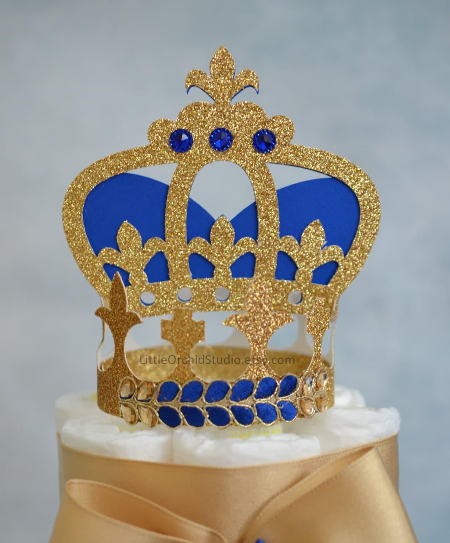 Royal Prince Baby Shower/ Royal Birthday/ Prince/ Crown/ Cake