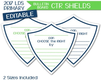 ctr shield etsy - Choose The Right Coloring Page
