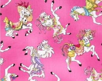 Quilting Treasures Carousel  Quilters cotton fabric BTY