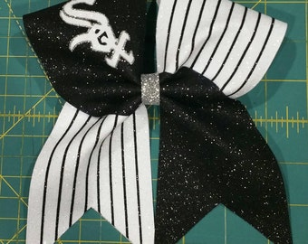 White Sox Cheer Bow
