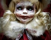 Silent Night - ooak horror doll from your nightmares!