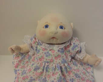 Soft Sculpture Doll, Baby Doll, OOAK Doll