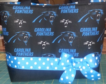 NFL Carolina Panthers Purse