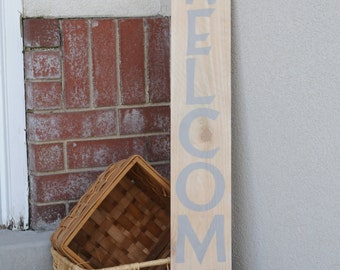 WELCOME Sign perfect for your front porch decor