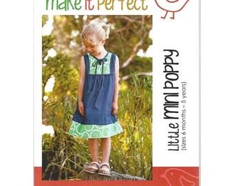 LITTLE MINI POPPY - Pattern - Australian design by Make It Perfect