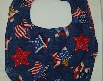 Patriotic Child Bib