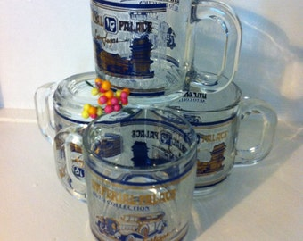 Set Of Four Imperial Palace Auto Collection Mugs Las Vegas