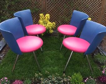 Fabulous Retro Designer Danish Erik Jorgensen 'Donna' Leather Chair