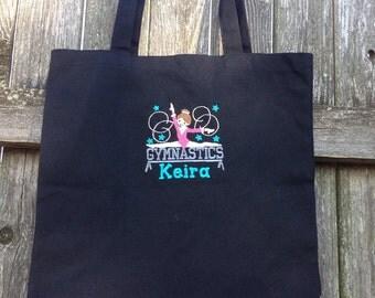 Personalized Gymnastics Girl Bag