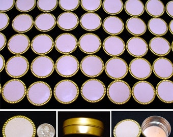 Small round tin box lot-Craft container lot-Metal jewelry box lot-55 Bead storage tin box-rhinestone storage box-jewelry finding tins