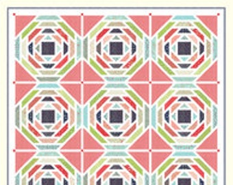 Playful Quilt Pattern by Bonnie Olaveson of Cotton Way