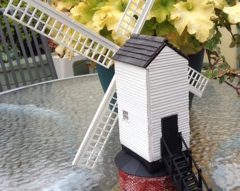 1/48 scale, wind mill, dolls house, minature,