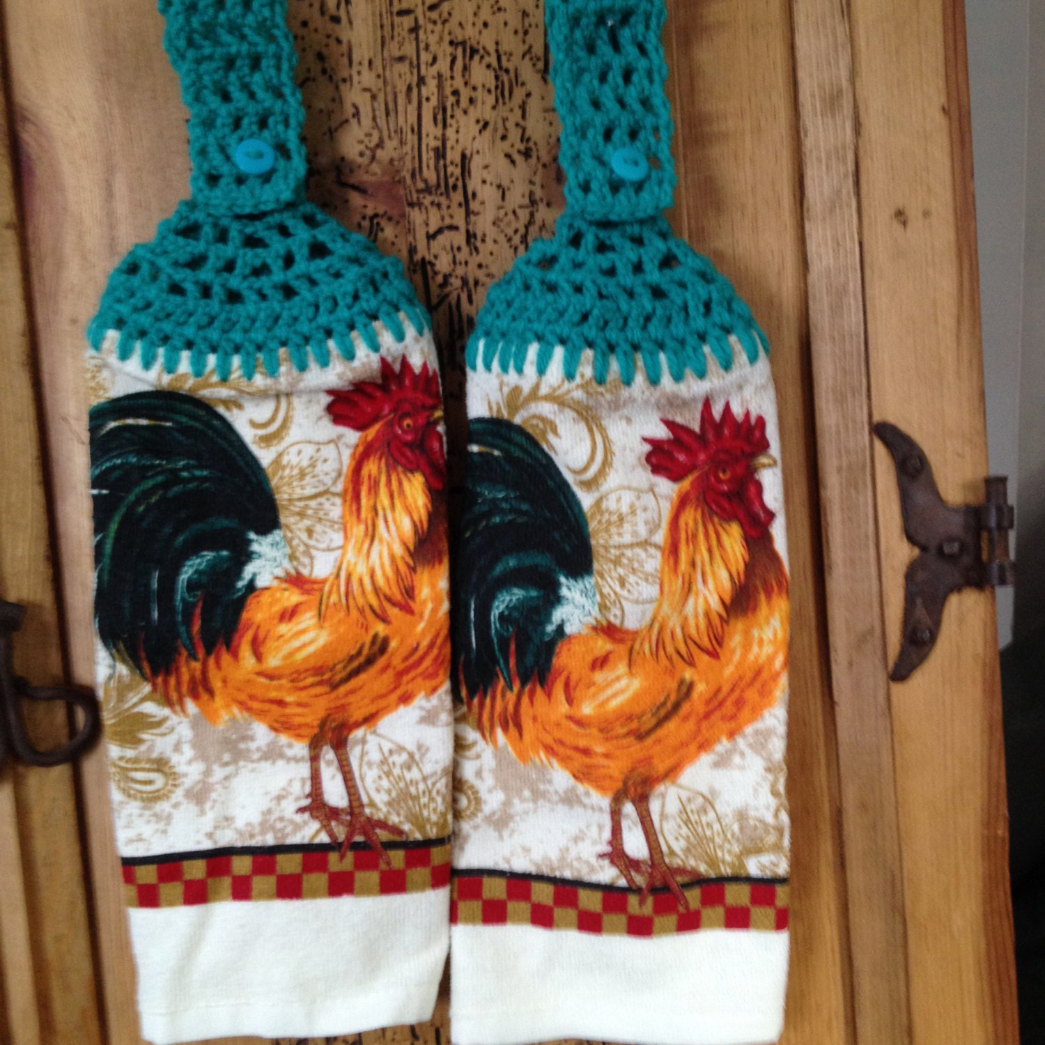 Rooster Country Kitchen Decor Kitchen Towel By Simplybycindy