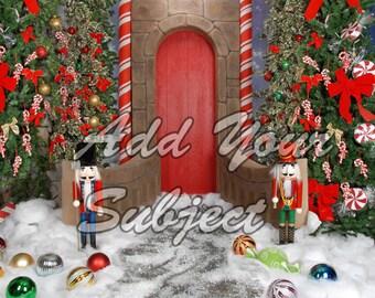 Digital Download Christmas Photography Background Backdrop Scene