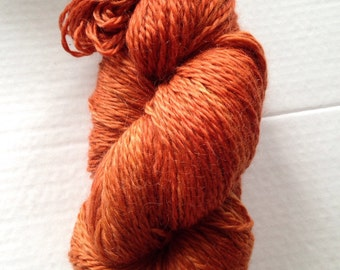 Mineville Wool Project 2 ply mohair twist yarn.