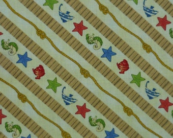 Treasure Bay – Elizabeth Miles – South Sea Imports – Quilting Patchwork Fabric FQ