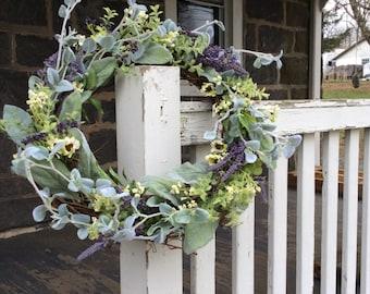 Farmhouse Herb Garden Wreath
