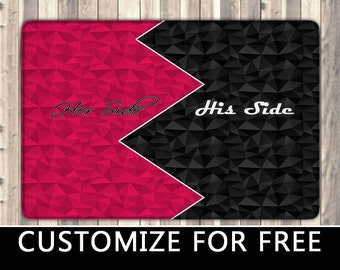 His And Hers Rug Etsy