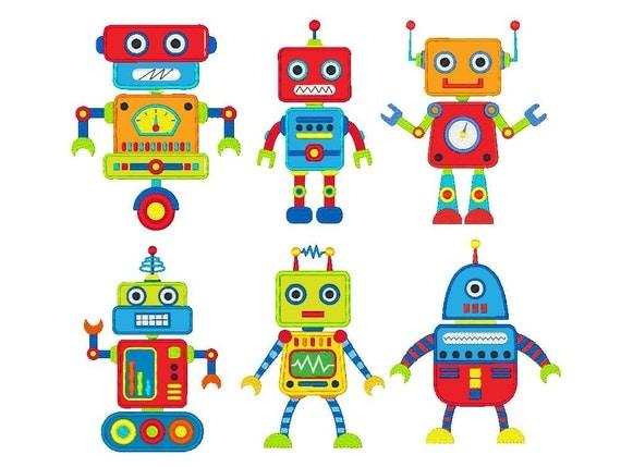 Robot Machine Embroidery Designs