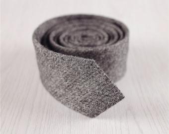 mens wool ties.wool accessories.gray necktie.pure color tie.winter necktie.chirstmas gifts for men.skinny necktie.2 inch necktie+nt.79s
