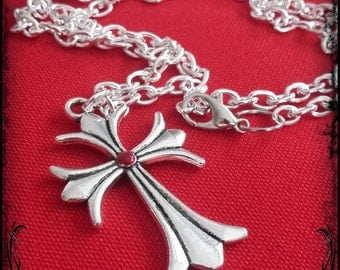 Gothic victorian cross necklace