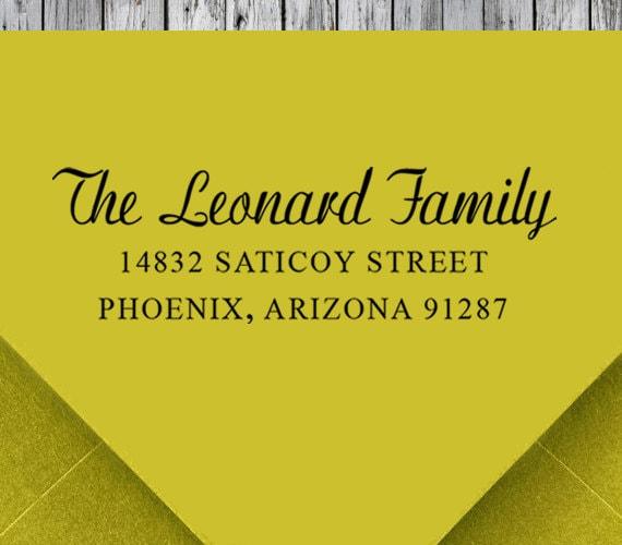 Return Address Stamp, Self Inking Address Stamp, Address Stamp ...