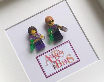 Ab Fab Lego® Frame Absolutely Fabulous Lego Gift