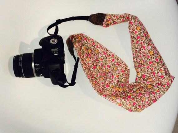 courroie appareil photo sangle appareil photo foulard pour. Black Bedroom Furniture Sets. Home Design Ideas