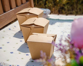 25 x take out containers take out box to go containers food box to go food