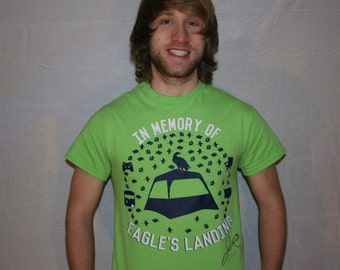 Jesse initials first 500 EAGLES LANDING T-Shirts