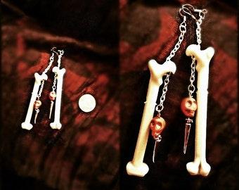 Bone Daddy Earrings