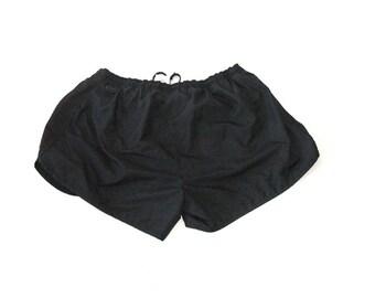 Reebok black running technical shorts