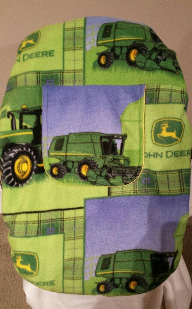 John Deere Truck Seat : Car seat carrier cover john deere baby cozy by