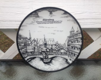 Nuremberg Collectible Plate