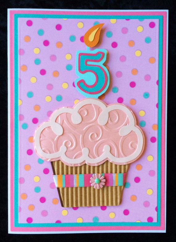 Five Year Old Birthday Cards