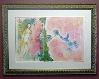 Custom Framed, Chagall Poster