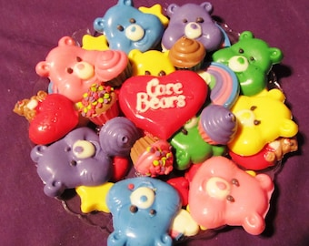 Care Bear chocolates candy trays