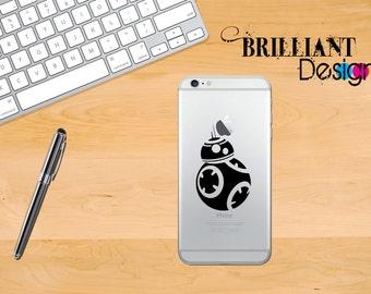 BB-8, BB8 Decal, BB8 Sticker, Star wars, Star wars Decal, BB8 iPhone Decal, BB8 iPhone 6 Sticker, Star wars BB-8
