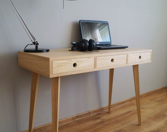 Desk, computer desk, office desk, scandinavian style