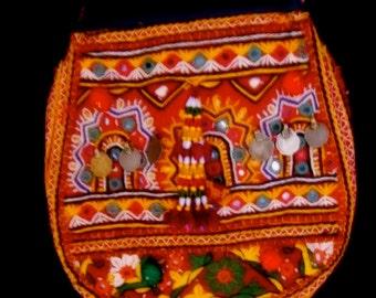 Tribal Gypsy Banjara Tote, Bag, Purse Ethnic Fashion, Handmade India