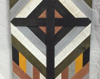 Wooden Cross Wall Art