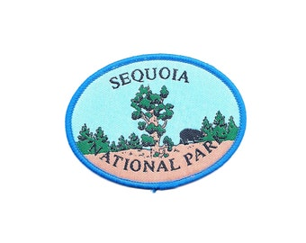Vintage Sequoia National Park Patch